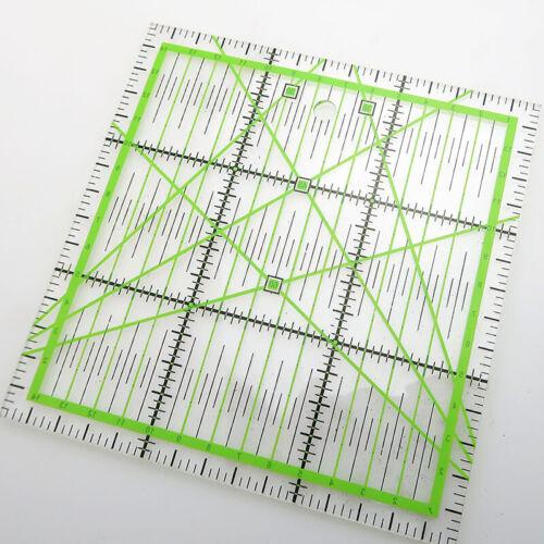 Acryl Quilten Lineal Herstellung Platz Handwerk Werkzeug Schneiden Schneider