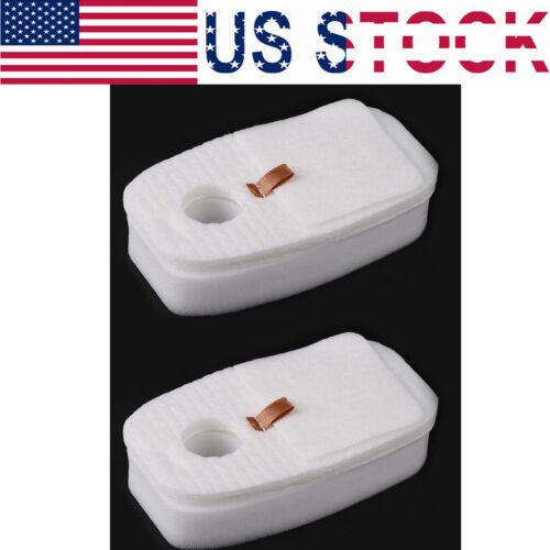 2 SetVacum Foam /& Felt Filter Post Kit For Shark Rocket HV380 HV380W HV381 HV382
