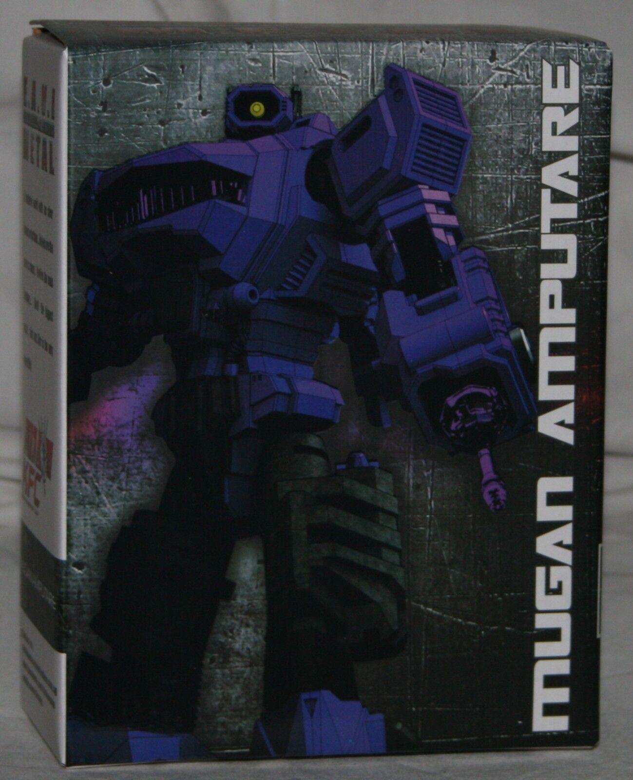 Transformers KFC e.a.v.i. metal Mugan Amputare MISB