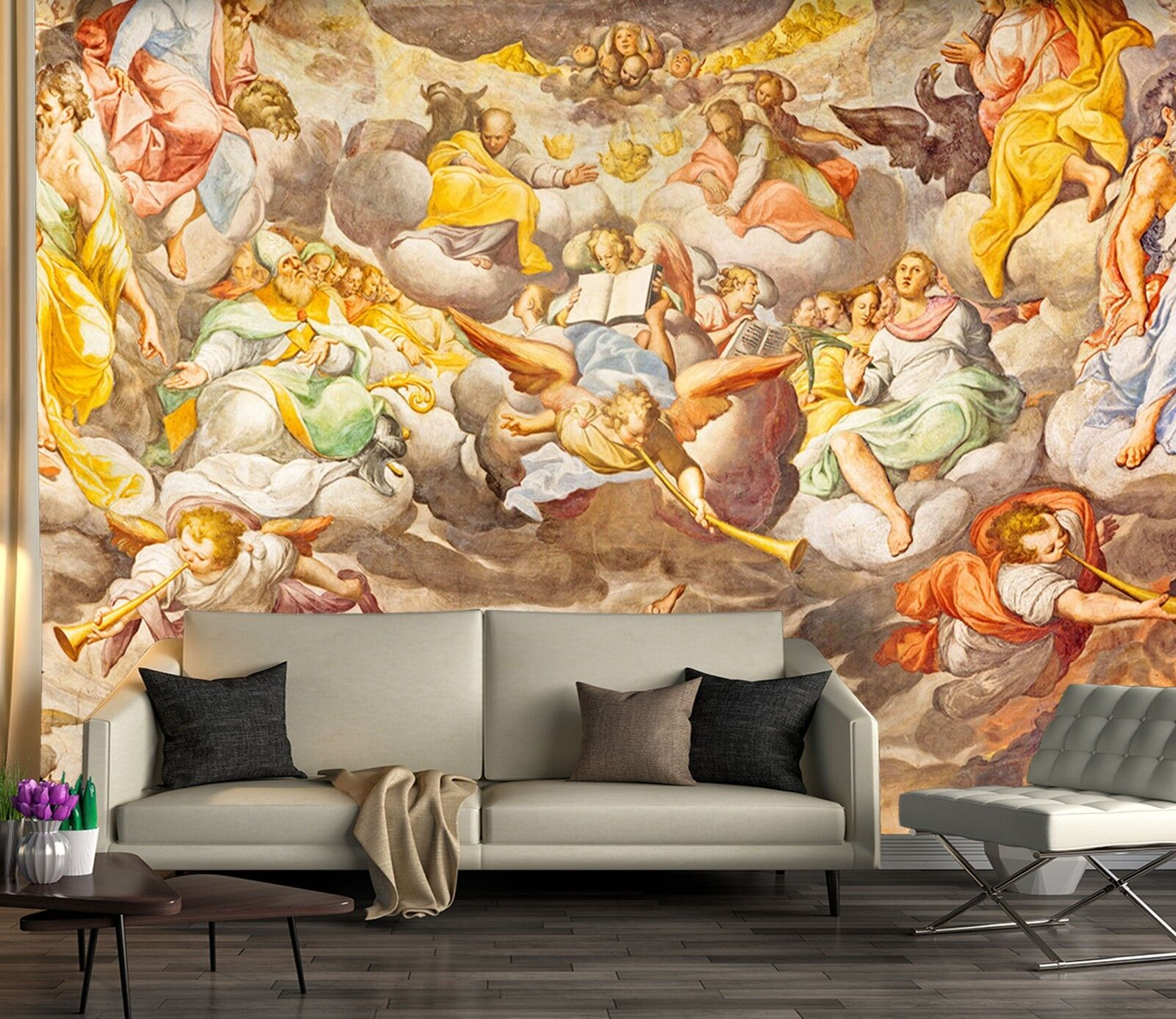 3D Angel Oil Painting 56 Wall Paper wall Print Decal Wall Deco Indoor wall Mural