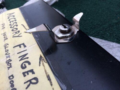 1939 Chevrolet Master Deluxe Glove Box Lock opener Finger Pull