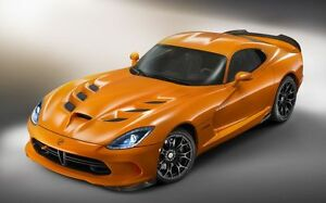 Image Is Loading Dodge Viper Muscle Car Poster 1 Multiple Sizes