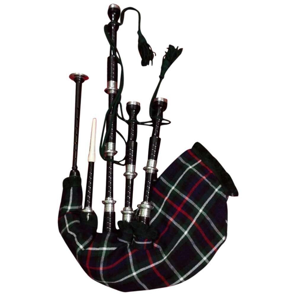 TC Schottischer Großer Highland Dudelsack Palisanderholz Schwarze Farbe