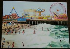 Seaside Heights, New Jersey Casino Pier Postcard