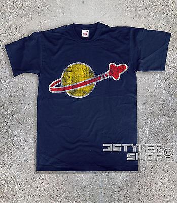 t-shirt uomo LEGO SPACE Legoland Spazio LEGO System astronave astronauta stelle