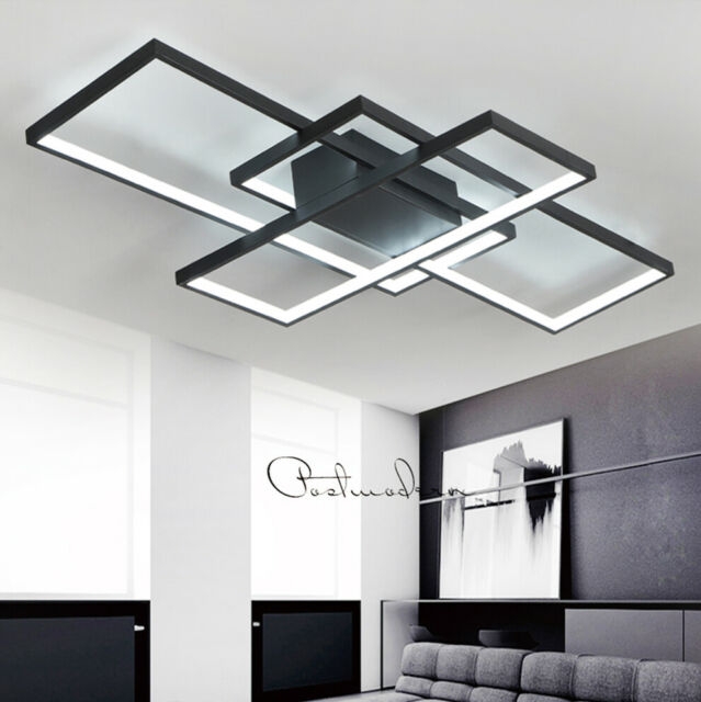 Led Wohnzimmer Deckenleuchte Schlafzimmer Deckenlampe Dimmbar Fernbedienung  95W