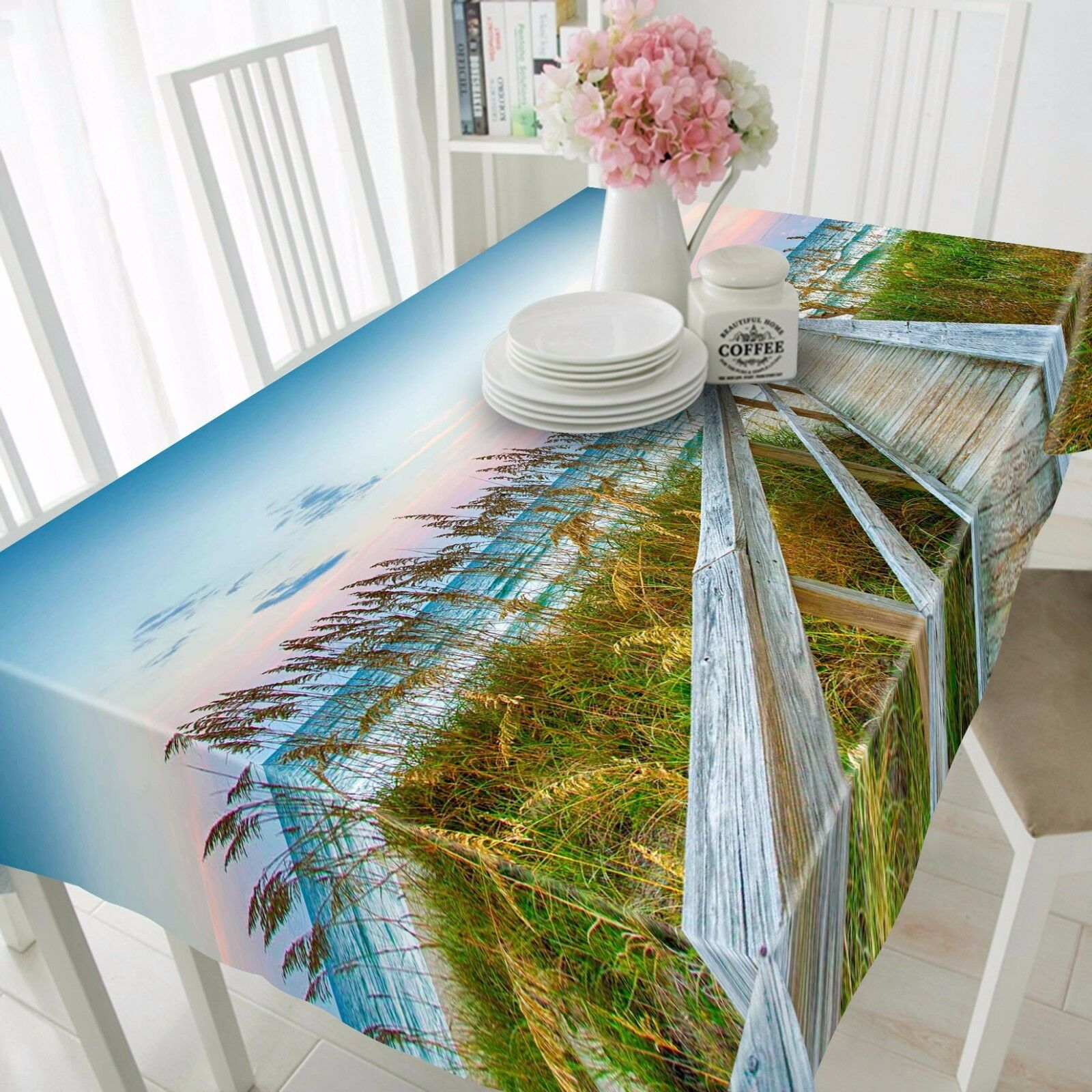 3D Straw 958 Tablecloth Table Cover Cloth Birthday Party Event AJ WALLPAPER AU