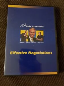 Details about Effective Negotiations 3 CD'S Omar Periu Wealth Sales  Motivate, Sales Training