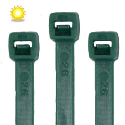 100 Stk. UV stabilisiert Kabelbinder 250 x 7,6 mm  UV-Solar
