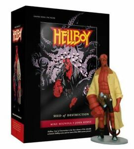 HELLBOY-BOOK-AND-FIGURE-BOXED-SET-By-Mike-Mignola-Hardcover-BRAND-NEW