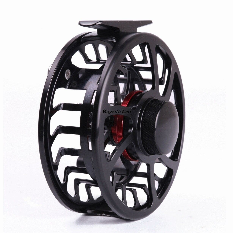 Super Light Fishing WATERPROOF Large Arbor Fly Fishing Light Reel 3/4WT CNC Machined Aluminum c50a2f