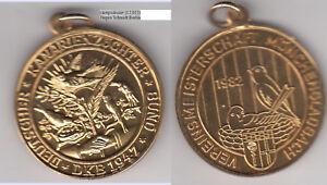 Monchengladbach-Kanarienzucht-Oiseau-Bird-Goldbronzemedaille-1982-Env-19-87-G