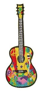 Ecusson-patche-Guitare-Guitar-Musicien-thermocollant-patch-DIY-brode