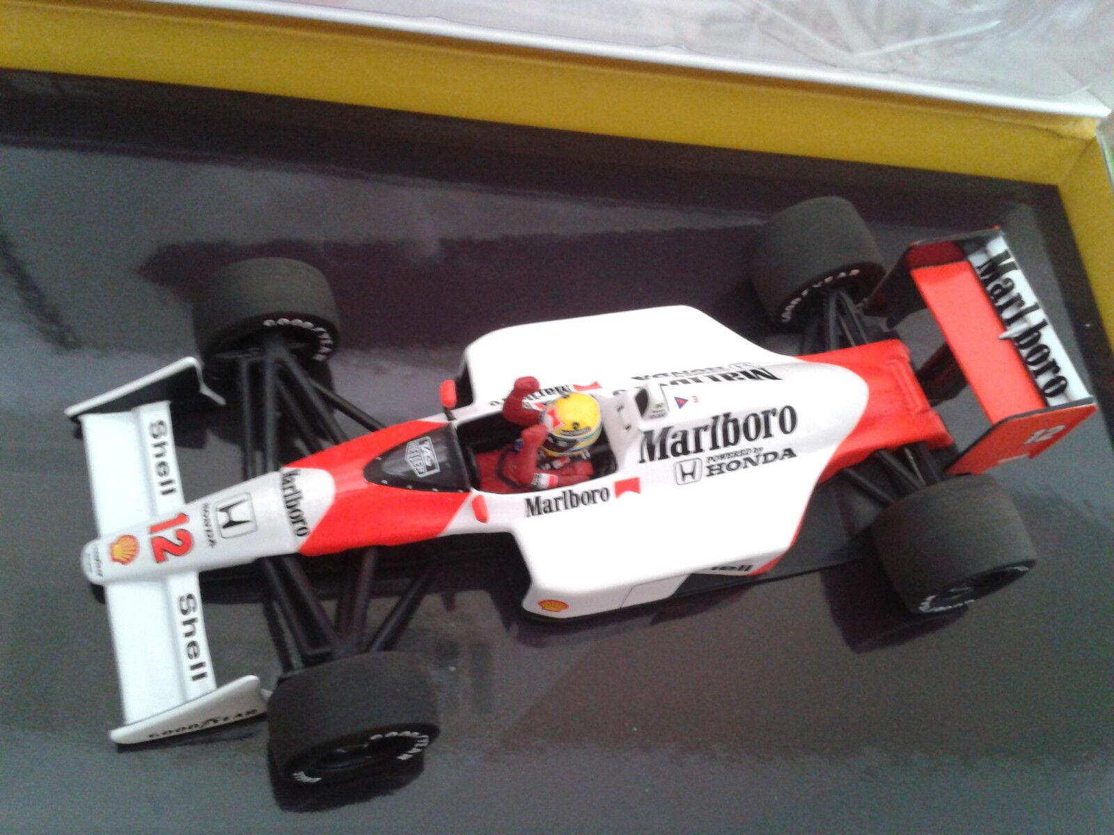 Minichamps Marlboro McLaren McLaren McLaren MP4 4 Honda 1988 Ayrton Senna 1 43     b799f9