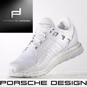2f4652f62 Adidas Porsche Design Ultra Boost Bounce Mens White Shoes SIZE US ...