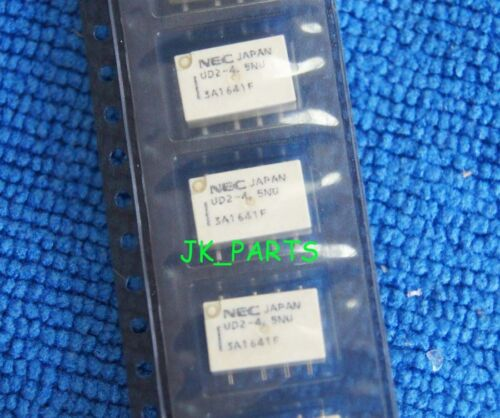 50pcs ORIGINAL 4.5V UD2-4.5NU NEC SMD Relay 8Pins