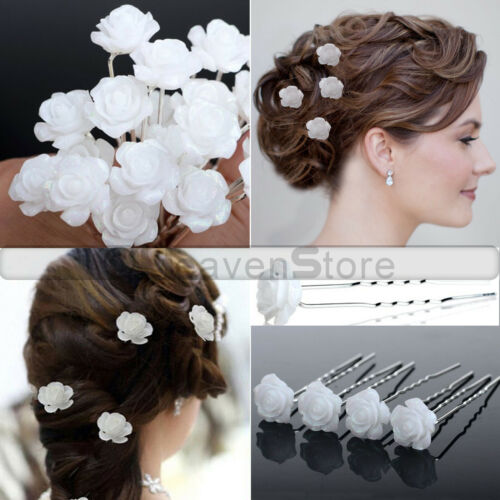 Diamond Crystal Wedding Hair Pins Clips Grips Bridesmaid Prom Party Jewellery