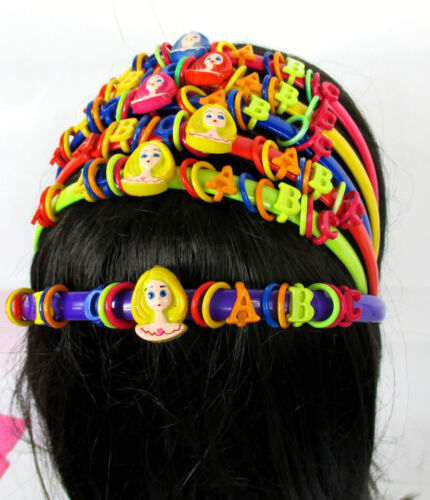 Lot of 6,12--Pretty  Design  6 Color  Girl/'s Plastic Headband Hair Accessory