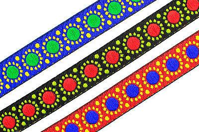 01 Cm wide Braid Trim Upholstery Edging Border Sew Crafts Gimp Costume T368