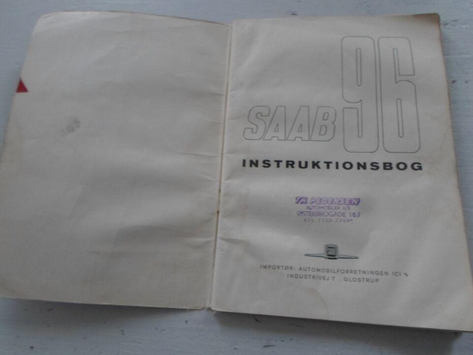 Instruktionsbog, SAAB 96 1961