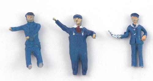 free post Loco Crew Set 1 Painted - Springside DA101 3 OO figures