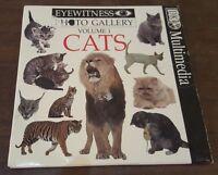 Eyewitness Photo Gallery Volume 1 Cats Computer Software Cdrom