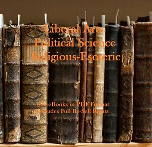 CD - 600 Books on The Arts, Science & Religion - eBooks