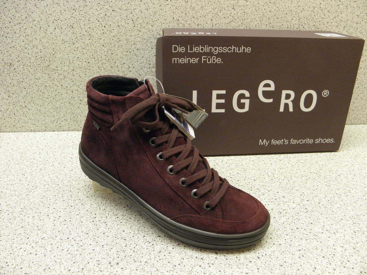 miglior prezzo migliore Legero ® riduce, finora  129,95, stivali in in in pelle Gore-Tex ® ROSSO (l7)  Sconto del 70%