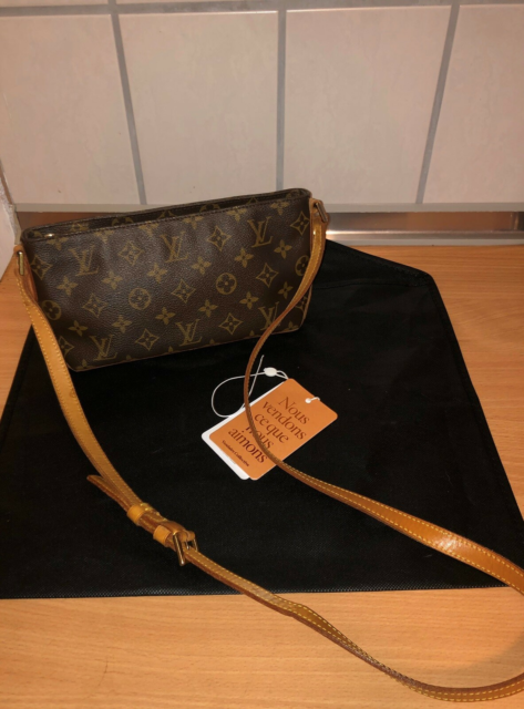 Crossbody, Louis Vuitton, læder, Louis Vuitton trotteur…