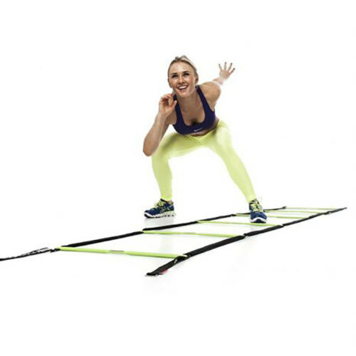 Escape Fitness 10/' Long Speed Ladder for Total Body Fitness Training w//Carry Bag