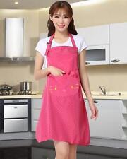 Cute Hello Kitty Waterproof Kitchen Painting Dining Bar Apron Pinafore Pink