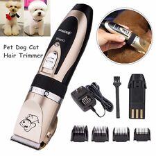 Pro Maquina Cortapelo Tijeras Afeitar Perros Gatos Mascotas Corta Pelo Trimmer
