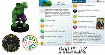 Disinteressato Hulk #027 Galactic Guardians Marvel Heroclix Raro Lussuoso Nel Design