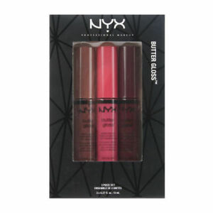 Nyx Butter Gloss Set 10 Ginger Snap Strawberry Cheesecake Devils