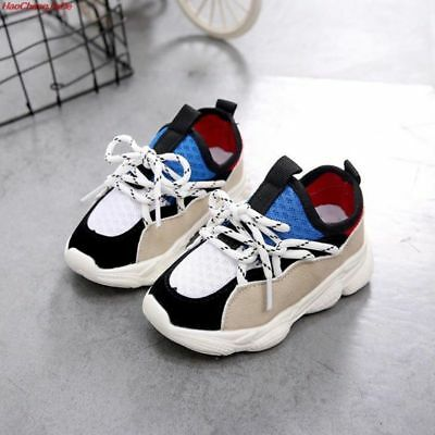 Trendy Fashion Shoes For Baby Girls Boys Sneakers Kids Air Mesh Breathable Shoes | eBay
