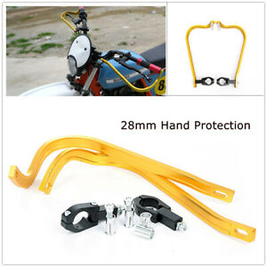 Pair Durable Dirt Bike Scooter Motorcycle 28mm Brush Bar Protective Handguards