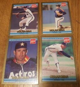 Details About 1992 Donruss Nolan Ryan Coca Cola Baseball Cards Lot Of 4 Cards