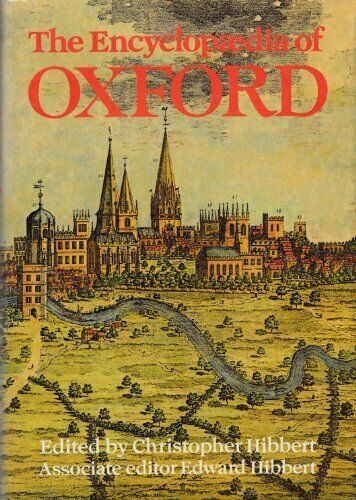 The Encyclopaedia Of Oxford Hardback Book The Cheap Fast Free Post