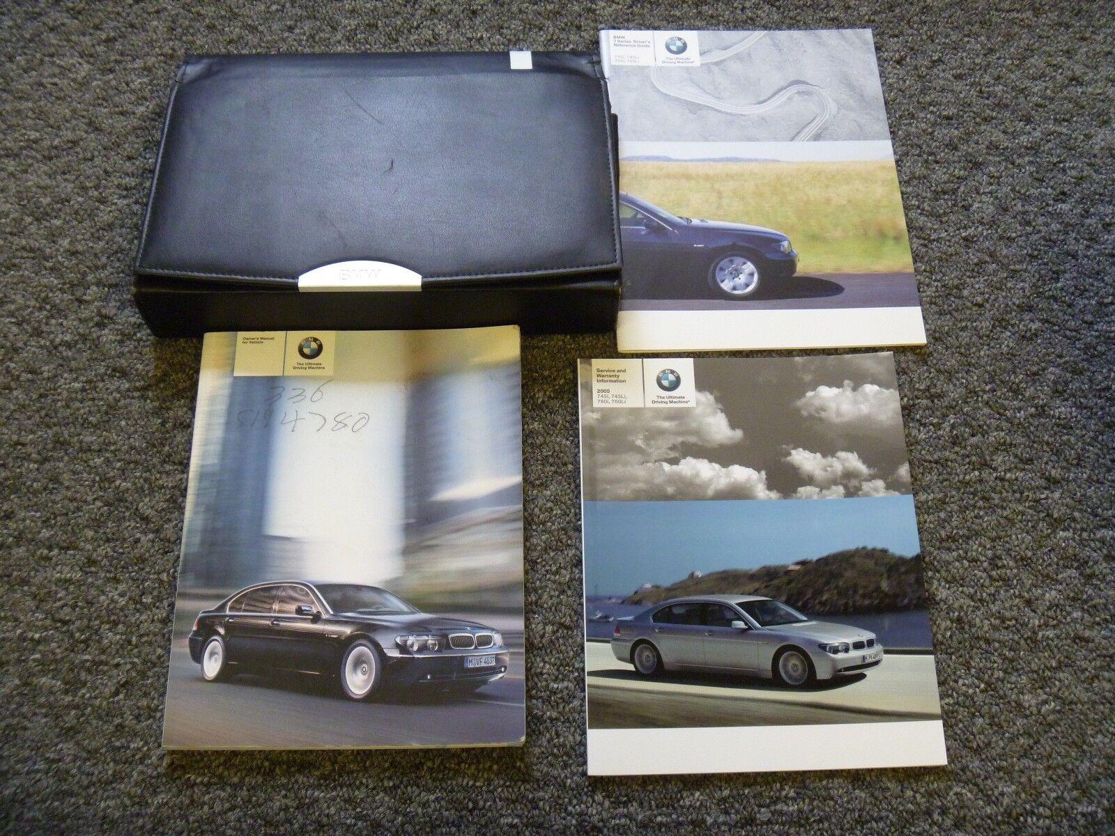 7 Series Owner Operator Manual Guide 745i 745li 760i 760li 44l 60l