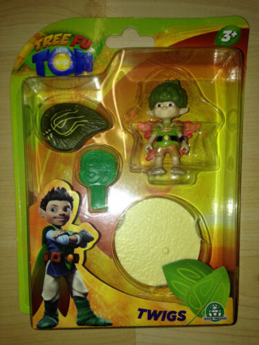 Tree fu tom toy action figure cbeebies tv new in box BBC Zigzoo ariela brindilles
