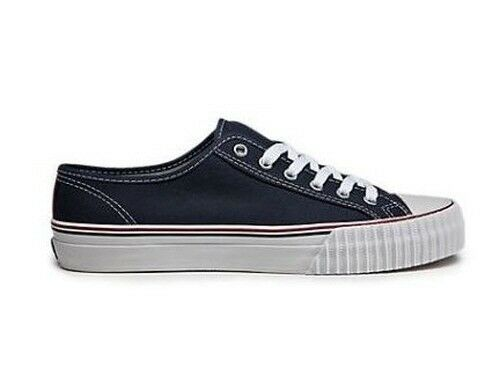 PF Flyers Center Lo Reissue Unisex Casual shoes Navy White Canvas MC1002NV  HcL