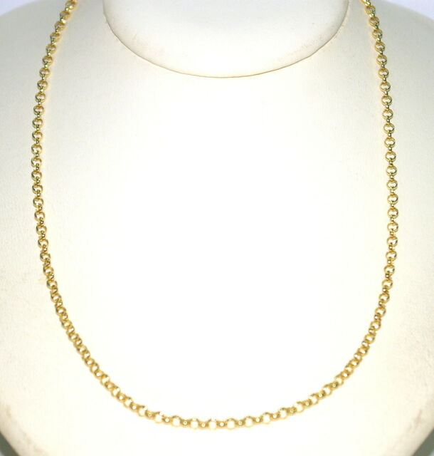 """WHOLESALE LOT OF 15pcs OF  8/"""" 14KT GOLD EP 3MM ROPE FRENCH STYLE CHAIN BRACELETS"""