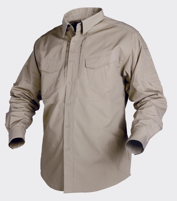 Helikon Tex Defender Cotone Manica Lunga All'Aperto per il Tempo Libero Camicia