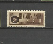 2749-SPAIN POLITICAL LABEL S.I.A.1938 .ANTIFASCISTA COMITE EJECUTIVO NACIONAL **