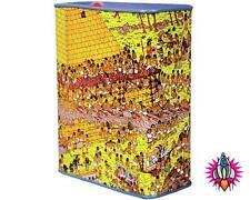 NEW WHERE'S WALLY EGYPTIAN PUZZLE TIN MONEY BOX PIGGY BANK