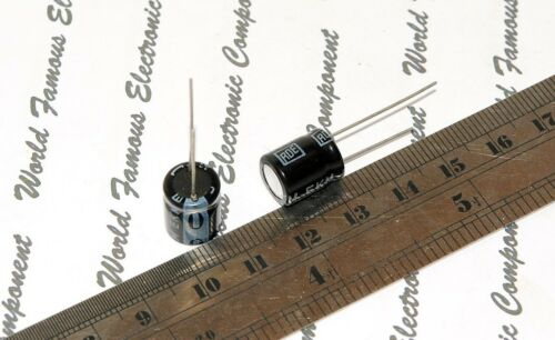 2pcs-Roederstein 220µF ROE EKM 220uF 16V Radial Electrolytic Capacitor