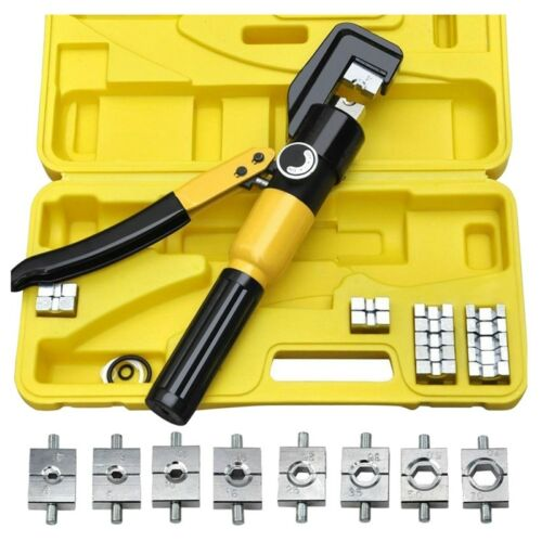 Heavy Duty 4-70mm 8T Manually Hydraulic Crimper Crimping Tool M4Z2