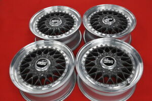 BBS-RS033-15-034-WHEELS-6-5J-ET34-4xPCD100-BMW-E30-GOLF-VW-civic-EG6-EF9-RS-033