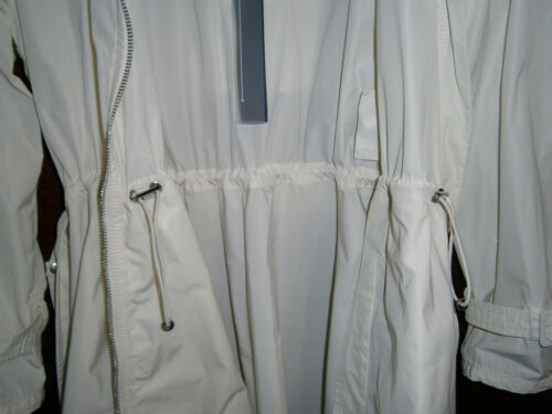 Cappotto 42 Donna Giacca Trench Bianco S Add Soprabito Impermeabile Avorio 40 qx0wntR