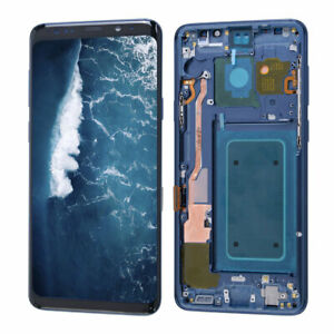 For Samsung Galaxy S9 Plus G965 LCD Display Touch Screen Replacement Coral Blue